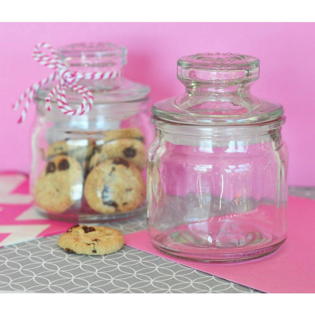 Mini Cookie Jars (Set of 10) - Sophie's Favors and Gifts