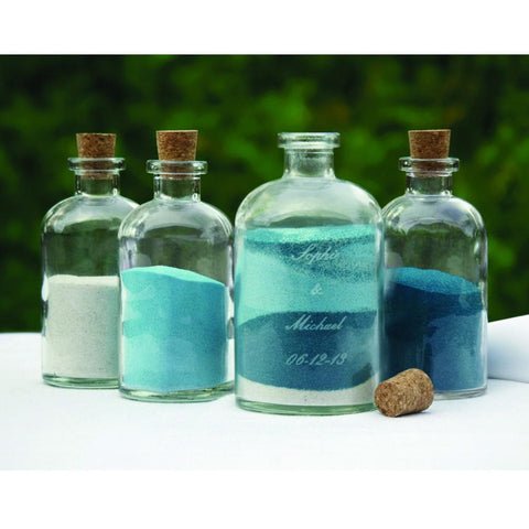 Unity Sand Pouring Ceremony Kit (Decanters) - Sophie's Favors and Gifts