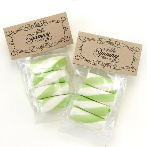 Little Yummy Treat Bags and Card Toppers - Sophie's Favors and Gifts