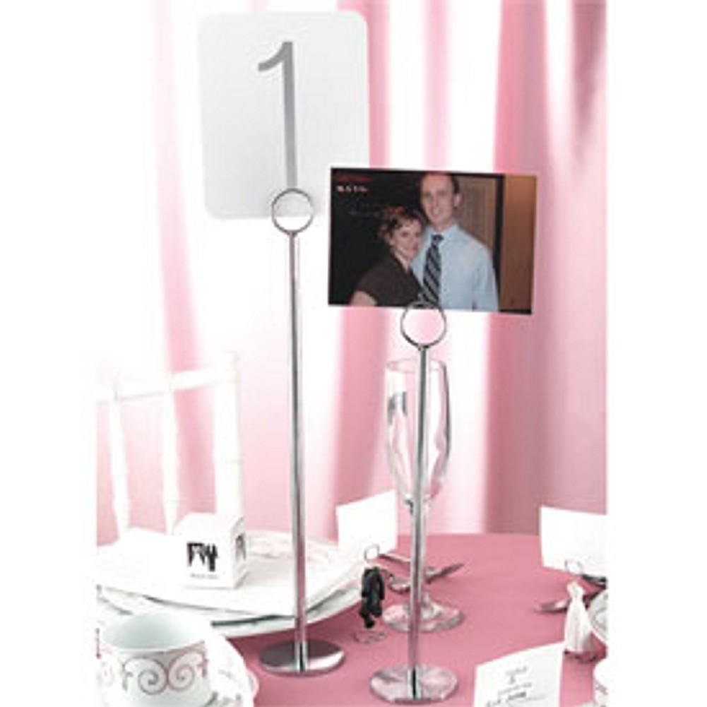 15in. Tall Table Number Stands - Set of 5, table number card holder, table number card stand, holders for table number cards, table numbers, Table Decorations & Centerpieces
