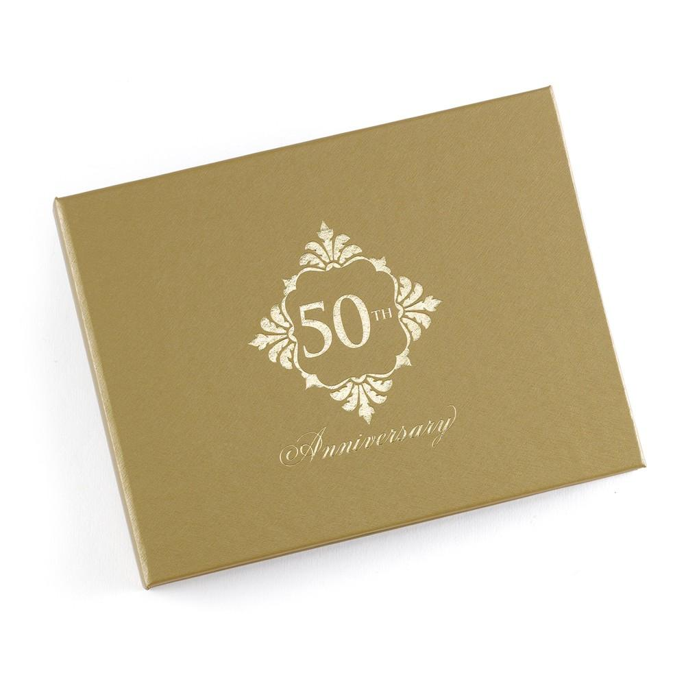 Golden Anniversary Guest Book - Sophie's Favors and Gifts