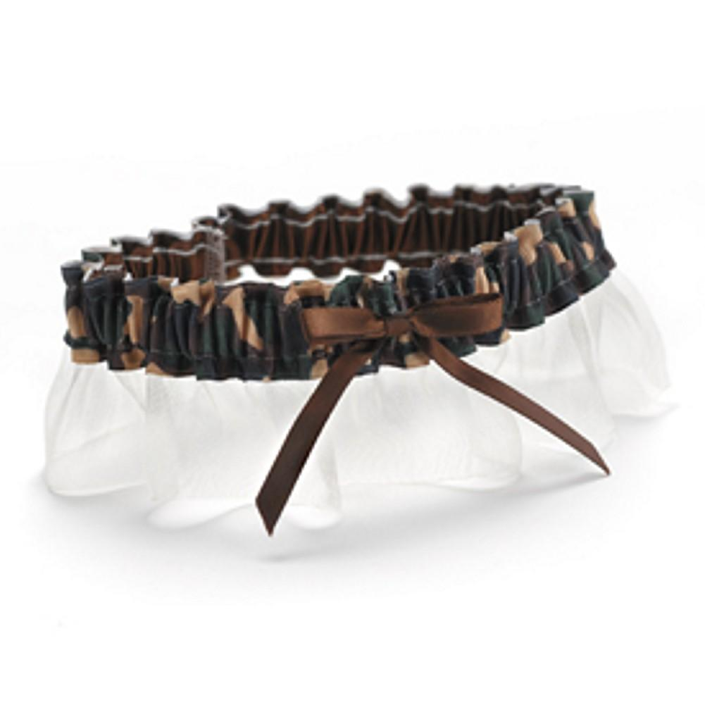 Desert Camouflage Wedding Garter - Sophie's Favors and Gifts