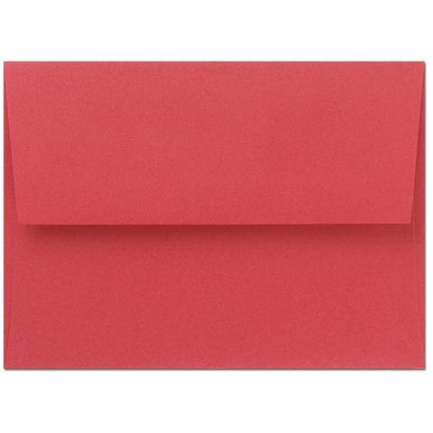 Bright Red A9 Envelopes - 25 Pack, red envelopes, A9 Envelopes, christmas envelopes, red stationery, Stationery & Letterhead
