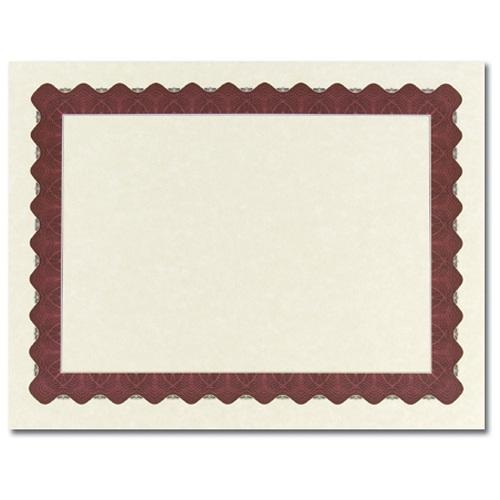 Metallic Red Certificates - 100 Pack - Sophie's Favors and Gifts
