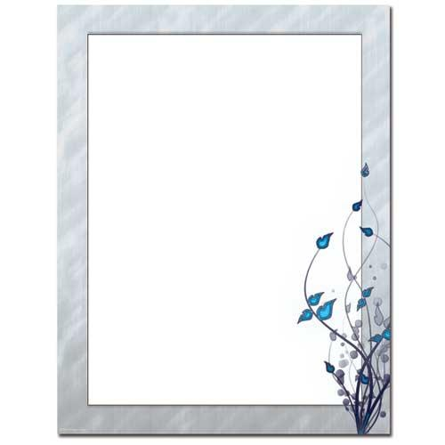 Serenity Letterhead - 100 Sheets - Sophie's Favors and Gifts