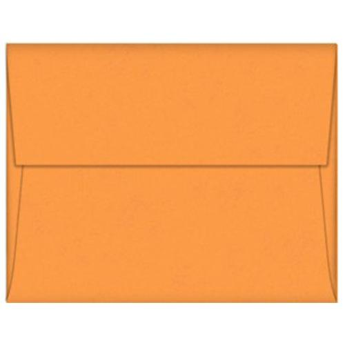 Orange Fizz A9 Envelopes - 50 Pack - Sophie's Favors and Gifts