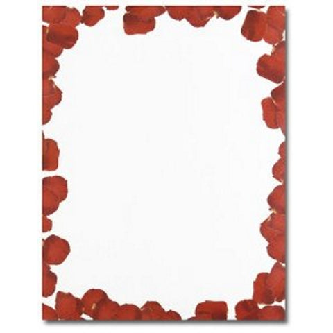 160 Roses are Red Letterhead Sheets - Sophie's Favors and Gifts