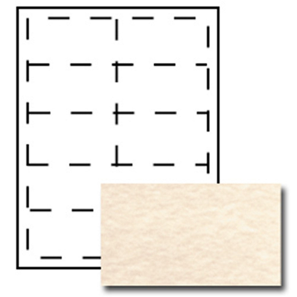 Parchment Printable Business Cards - Pack of 250