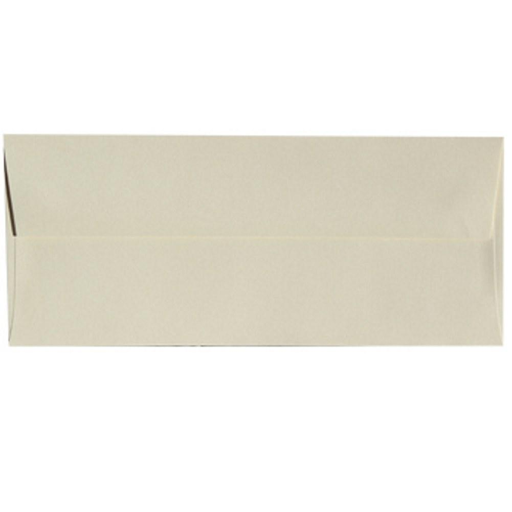Shimmering Poison Ivory Envelopes - No. 10 Style - Sophie's Favors and Gifts