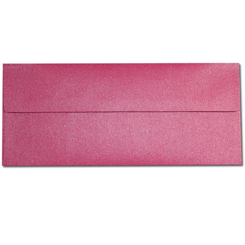 Shimmering Tropical Pink Envelopes - No. 10 Style - Sophie's Favors and Gifts