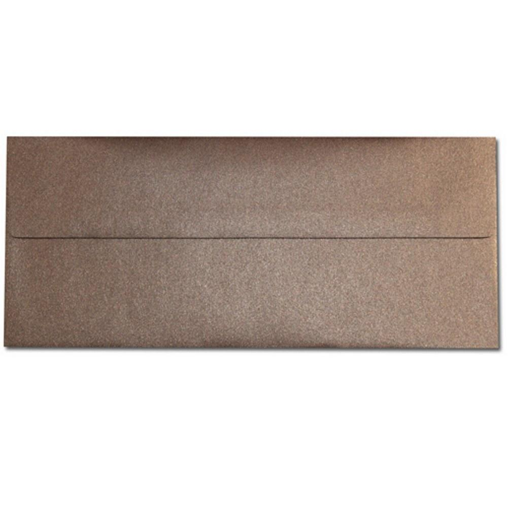 Shimmering Bronze Envelopes - No. 10 Style, brown envelopes, shimmering envelopes, metallic envelopes, no 10 envelopes, Stationery & Letterhead