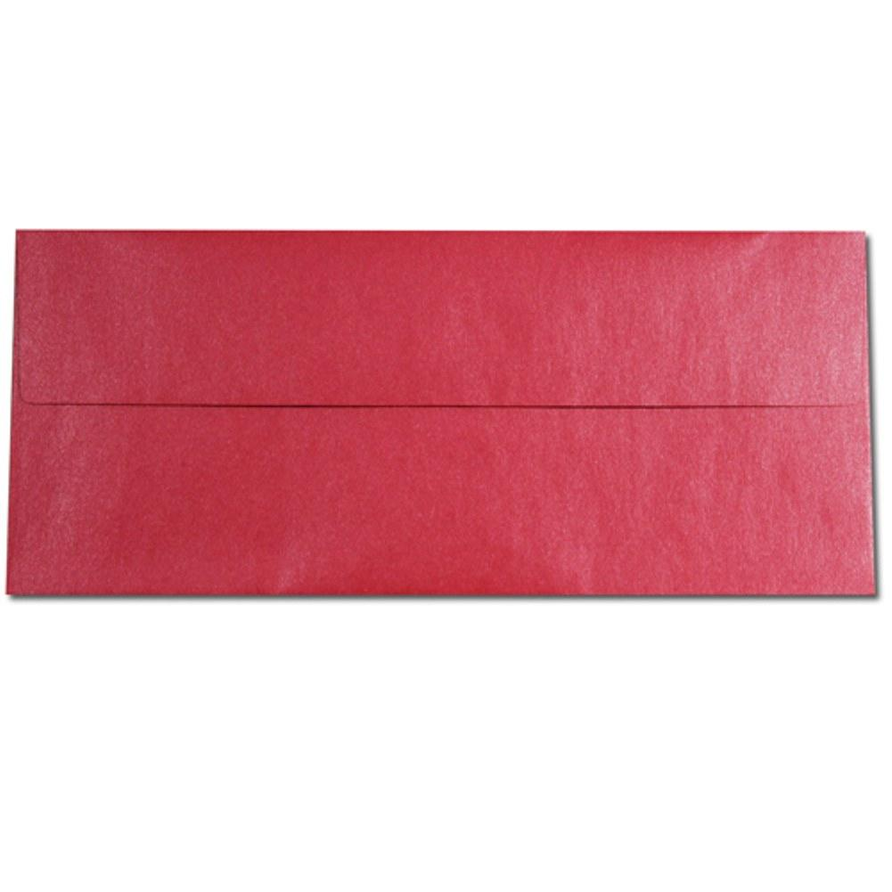 Shimmering Jupiter Red Envelopes - No. 10 Style - Sophie's Favors and Gifts