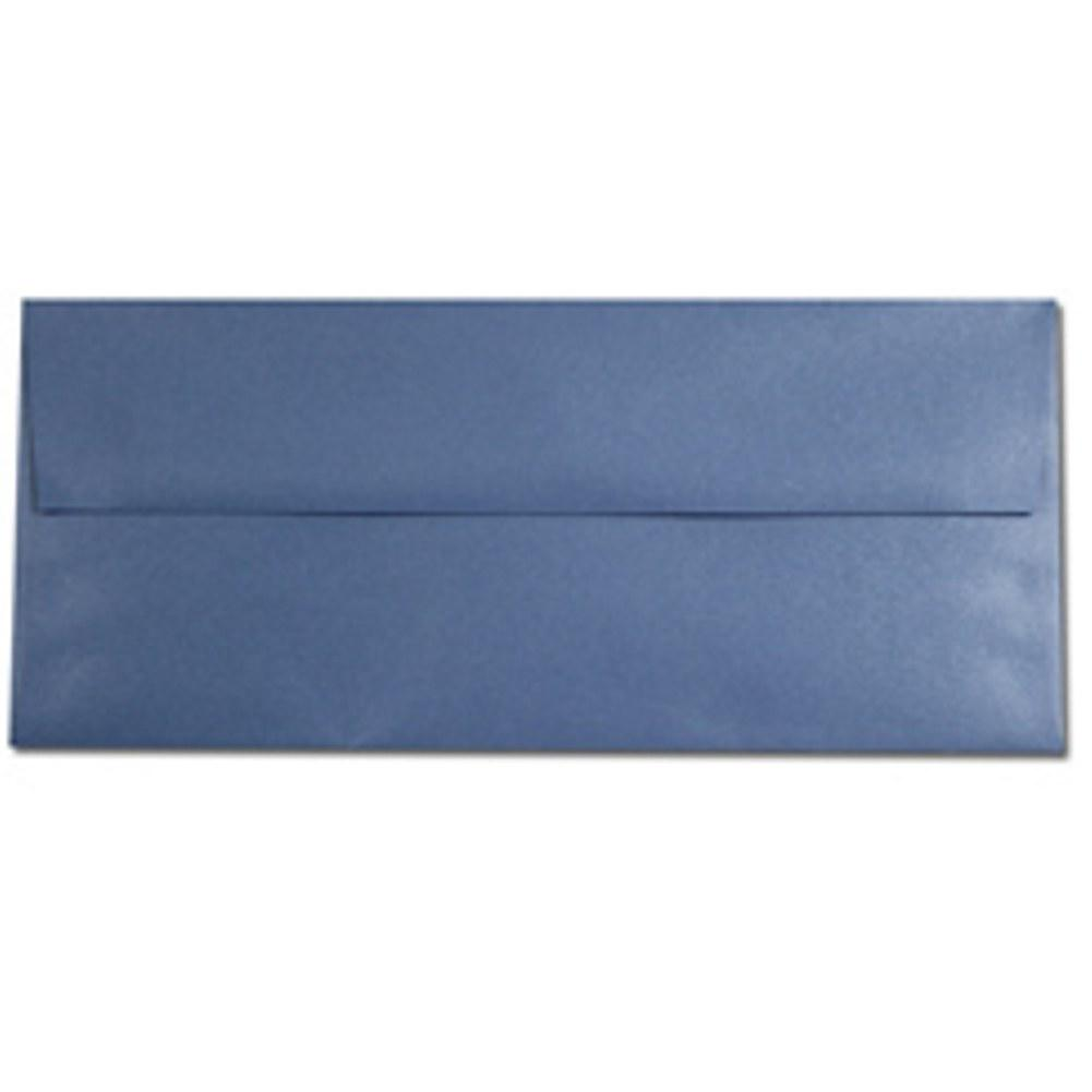 Shimmering Vista Blue Envelopes - No. 10 Style, blue envelopes, shimmering envelopes, metallic envelopes, no 10 envelopes, Stationery & Letterhead