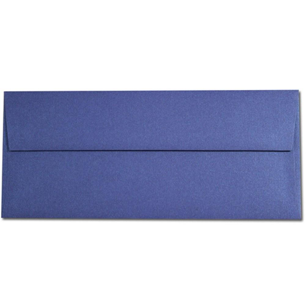 Shimmering Blueprint Envelopes - No. 10 Style, blue envelopes, shimmering envelopes, metallic envelopes, no 10 envelopes, Stationery & Letterhead