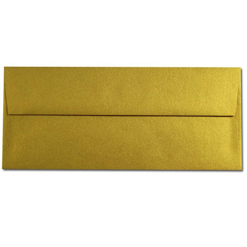 Shimmering Super Gold Envelopes - No. 10 Style - Sophie's Favors and Gifts
