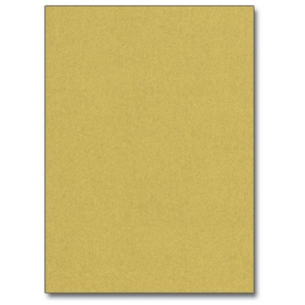 Super Gold Metallic Letterhead Sheets - Sophie's Favors and Gifts