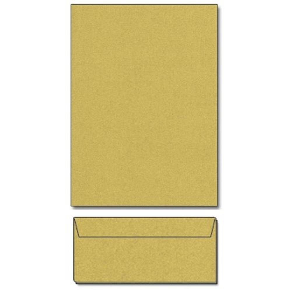 Super Gold Metallic Letterhead Sheets and Matching Envelopes, metallic gold letterhead, metallic gold stationery, gilded paper, gold paper, Christmas