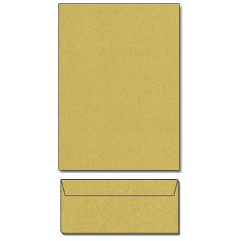 Super Gold Metallic Letterhead Sheets and Matching Envelopes - Sophie's Favors and Gifts