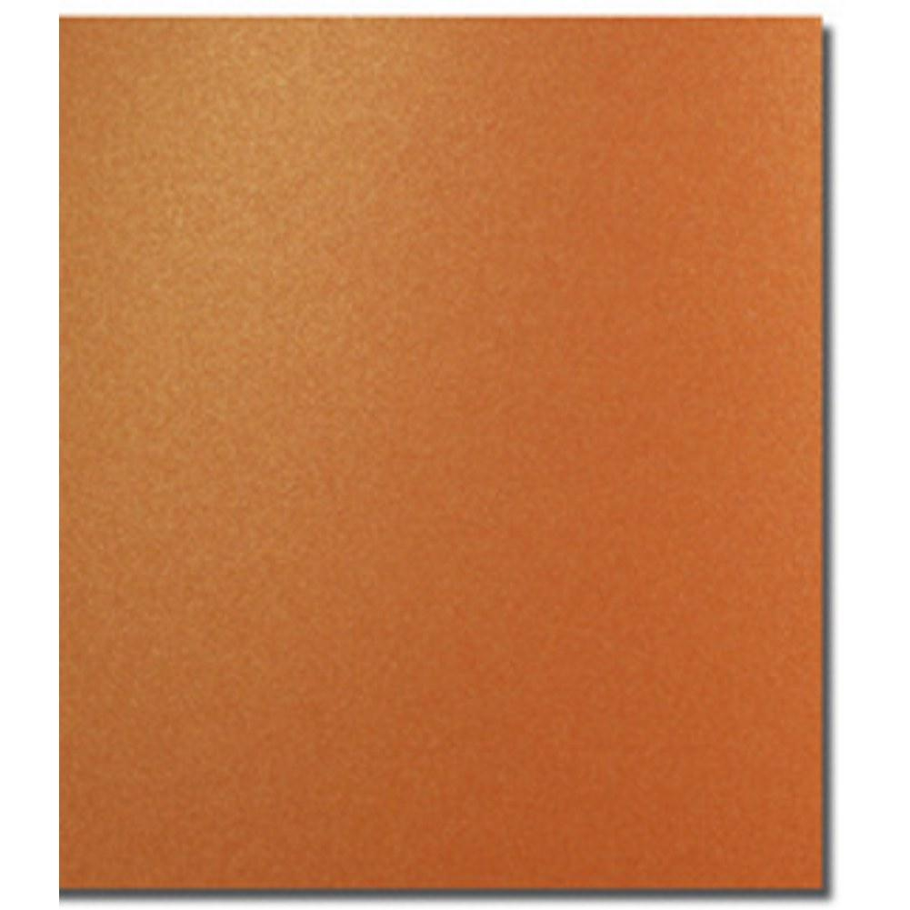 Shimmering Mandarin Letterhead Sheets, modern envelopes, shimmering envelopes, metallic envelopes, no 10 envelopes, Stationery & Letterhead