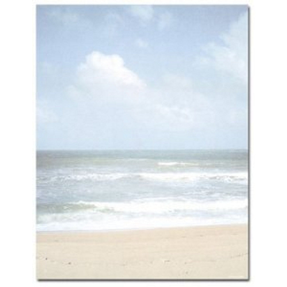 Beach Shoreline Letterhead - 160 Sheets - Sophie's Favors and Gifts
