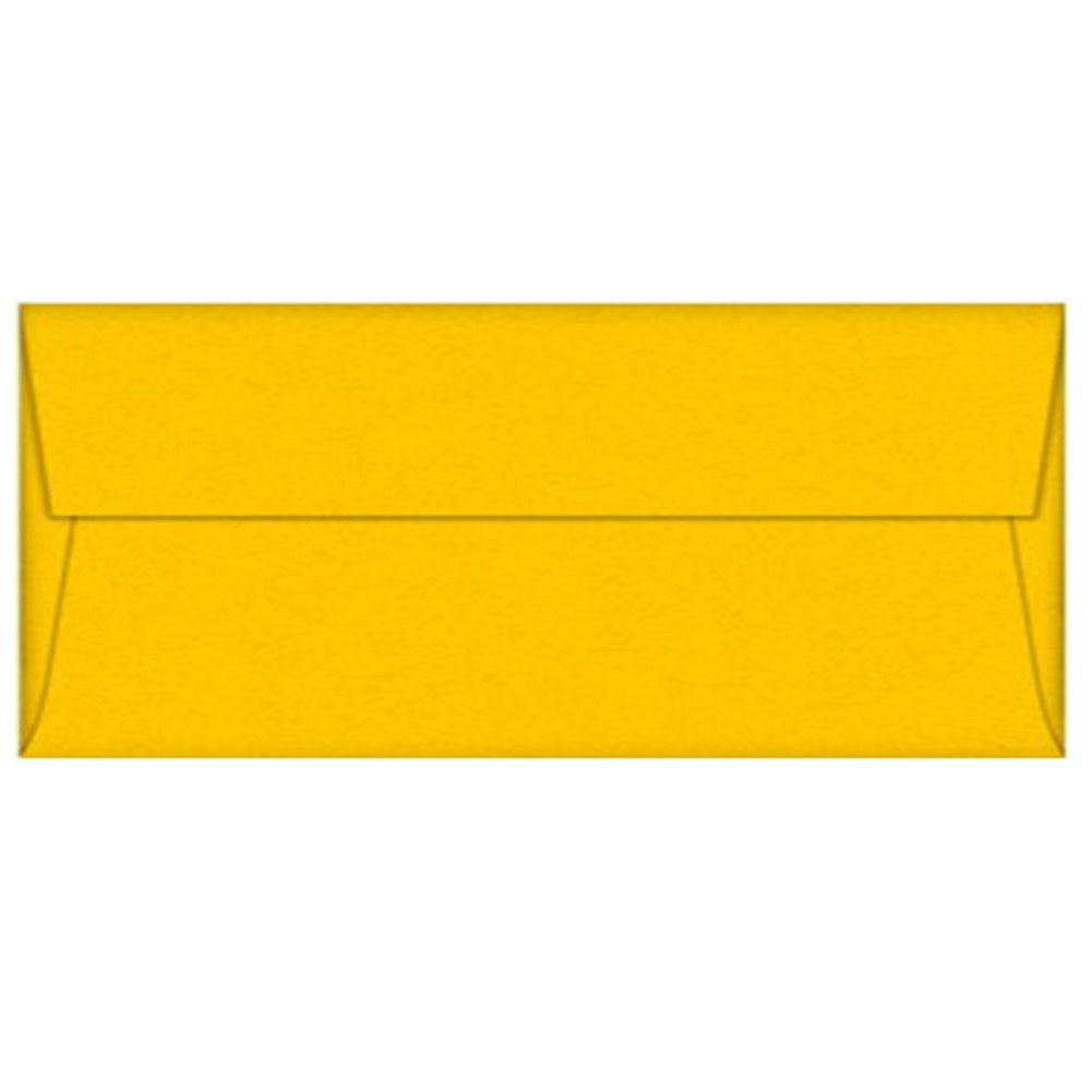 Lemon Drop Envelopes - No. 10 Style, yellow envelopes, color envelopes, party envelopes, no 10 envelopes, Stationery & Letterhead