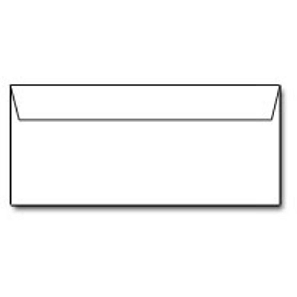 White Sweet Tooth Envelopes - No. 10 Style, white envelopes, color envelopes, wedding envelopes, no 10 envelopes, Stationery & Letterhead
