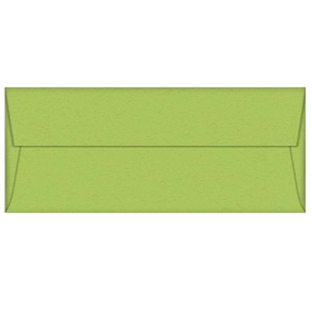 Sour Green Apple Envelopes - No. 10 Style , green envelopes, color envelopes, party envelopes, no 10 envelopes, Stationery & Letterhead