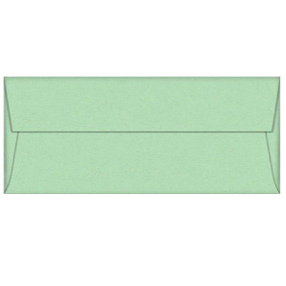 Green Spearmint Envelopes - No. 10 Style - Sophie's Favors and Gifts