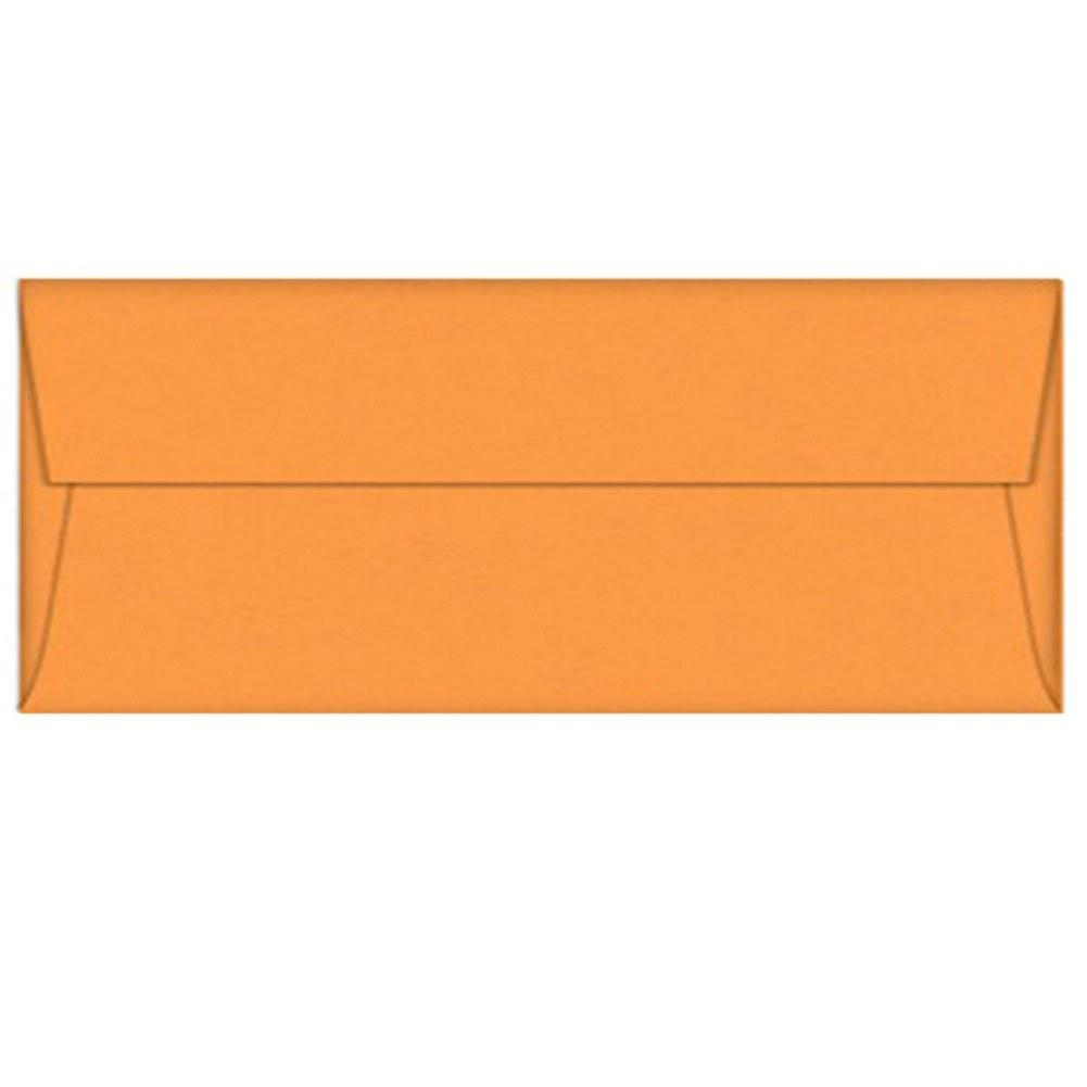 Orange Fizz Envelopes - No. 10 Style, orange envelopes, shimmering envelopes, halloween envelopes, no 10 envelopes, Stationery & Letterhead