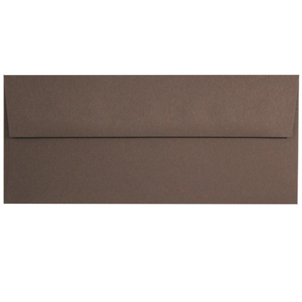 Brown Hot Fudge Envelopes - No. 10 Style, brown envelopes, color envelopes, business envelopes, no 10 envelopes, Stationery & Letterhead
