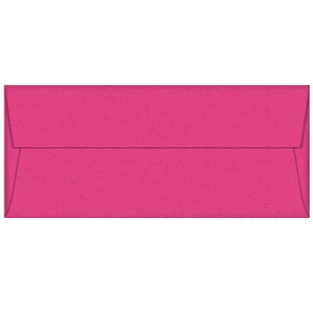 Pink Razzle Berry Envelopes - No. 10 Style, pink envelopes, color envelopes, business envelopes, no 10 envelopes, Stationery & Letterhead