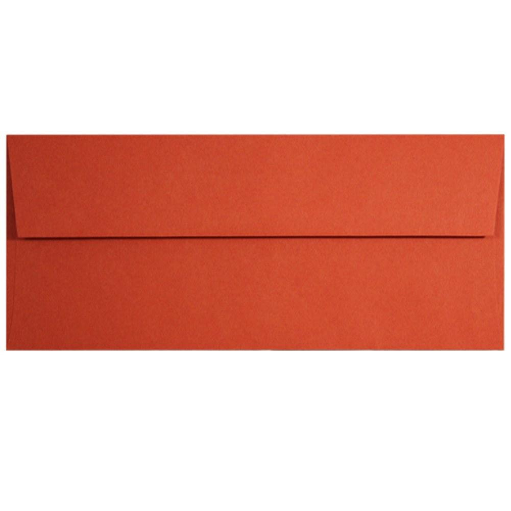 Tangy Orange Envelopes - No. 10 Style, orange envelopes, color envelopes, orange paper, no 10 envelopes, Stationery & Letterhead