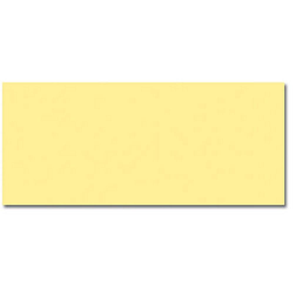 Canary Yellow Envelopes - No. 10 Style - 100 Pack, yellow envelopes, yellow stationery, cheap envelopes, no. 10 envelopes, Stationery & Letterhead