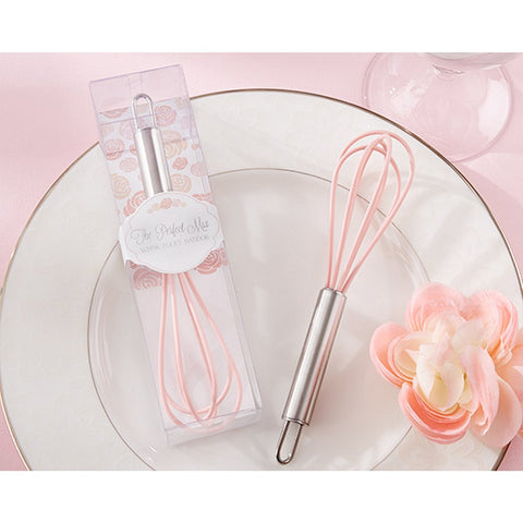 The Perfect Mix Pink Kitchen Whisk - Sophie's Favors and Gifts