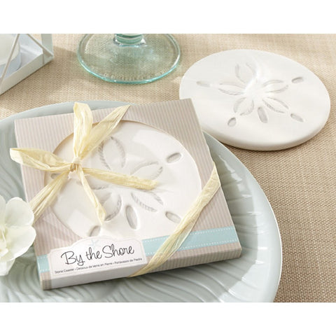 By The Shore Sand Dollar Coaster - Sophie's Favors and Gifts
