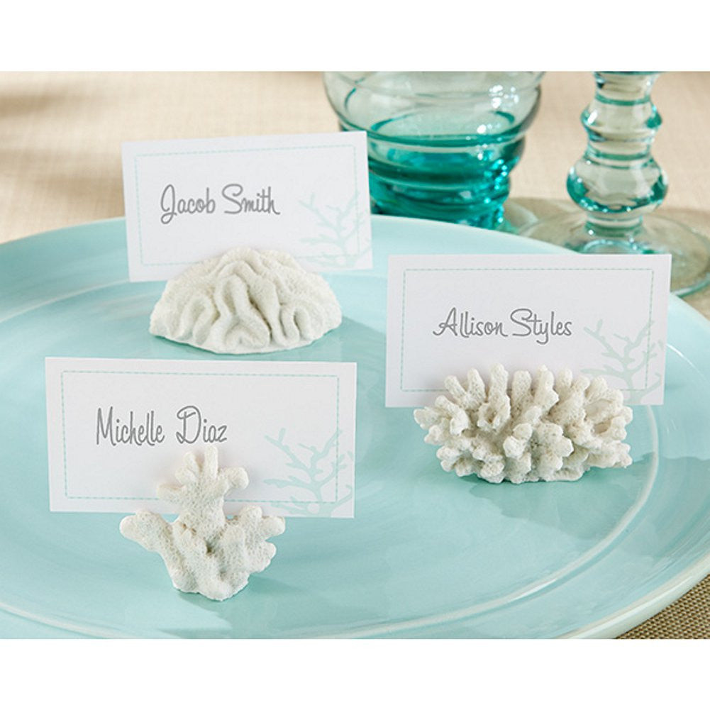 Seven Seas Coral Place Card or Photo Holder - Sophie's Favors and Gifts