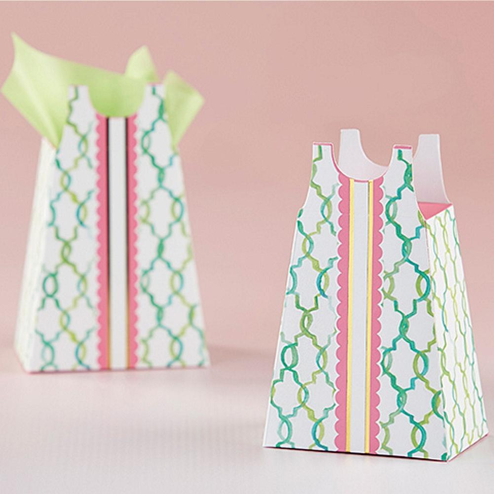Sundress Favor Box - Set of 12 - Sophie's Favors and Gifts