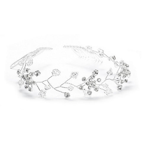Swarovski Crystal Tiara Vine - Sophie's Favors and Gifts