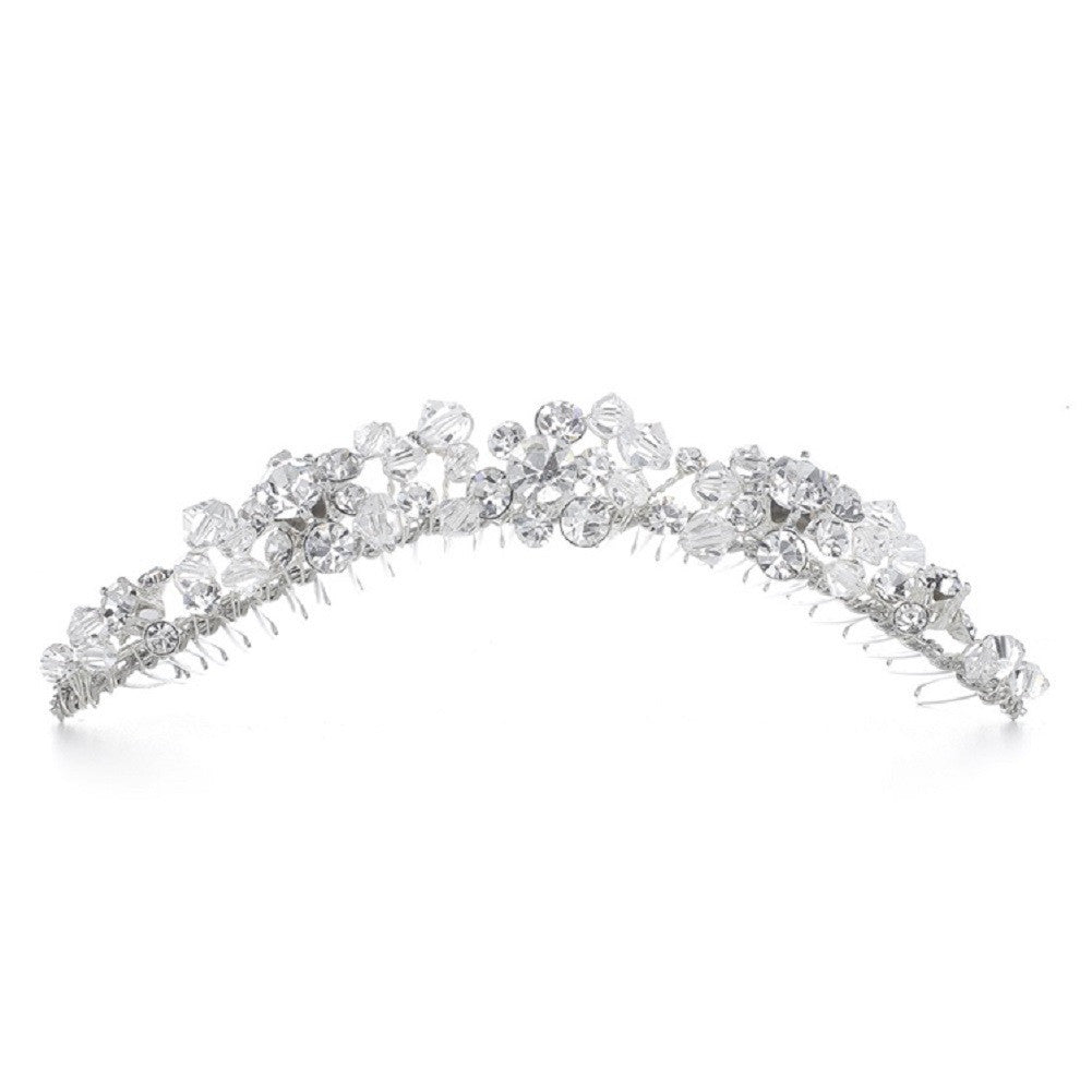 Swarovski Crystal Bridal Headpiece - Sophie's Favors and Gifts