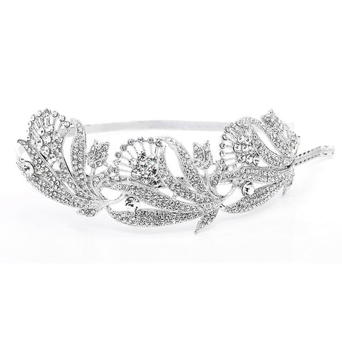 Breathtaking Art Nouveau Bridal Headband - Sophie's Favors and Gifts