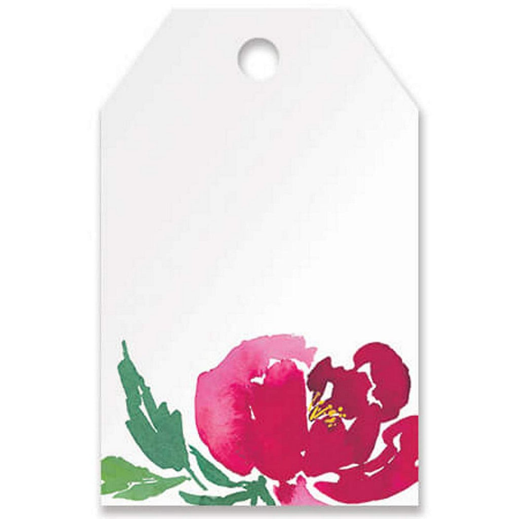 Watercolor Garden Printed Gift Tags - 3 1/2in. x 2 1/4in. - 50 Pack - Sophie's Favors and Gifts