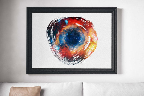 Cosmos Painting Poster
