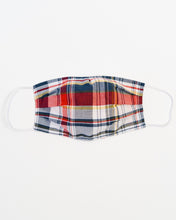 Load image into Gallery viewer, Holiday Plaid Large Face Mask