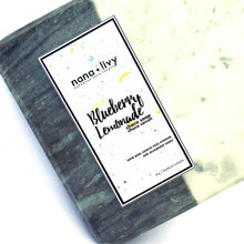Load image into Gallery viewer, Blueberry Lemonade Choco Soap