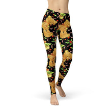Load image into Gallery viewer, Jean Holiday Teddy Leggings