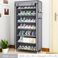 Load image into Gallery viewer, Multilayer Dustproof Shoe Rack
