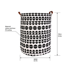 Load image into Gallery viewer, Foldable Laundry Basket