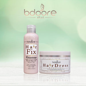 PACK HairDress : Kit lissage Kératine + Fixateur by Bdoore Atlas
