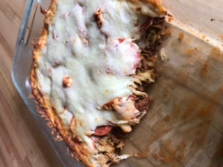 Venison Pizza Casserole Recipe