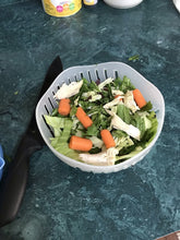 Load image into Gallery viewer, Salad Making Tools:  Cutting Bowl